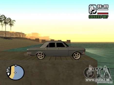 GAZ 2410 Tuning für GTA San Andreas zurück linke Ansicht
