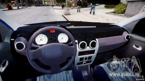 Dacia Logan 2008 [Tuned] pour GTA 4 Vue arrière