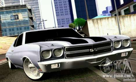 Chevrolet Chevelle 1970 pour GTA San Andreas