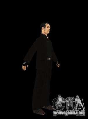 Skinpak Yakuza für GTA San Andreas zweiten Screenshot