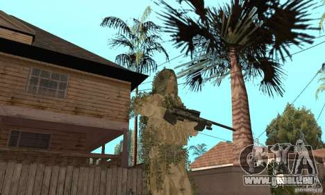 Sniper de peau pour GTA San Andreas cinquième écran