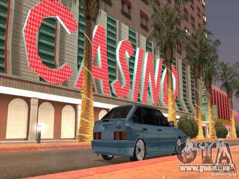 ВАЗ 2114-Casino für GTA San Andreas rechten Ansicht