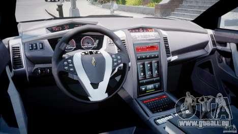 Carbon Motors E7 Concept Interceptor Sherif ELS pour GTA 4 est un droit