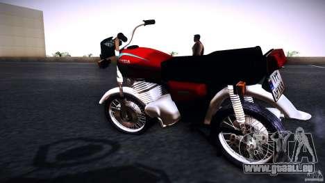 Honda CG 125 für GTA San Andreas linke Ansicht