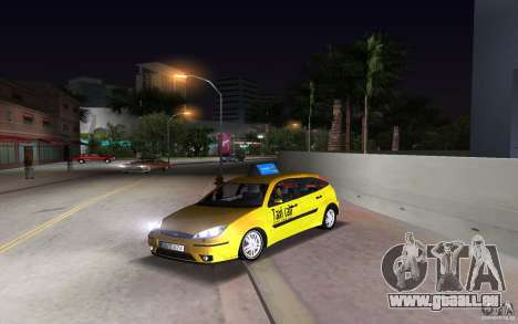 Ford Focus TAXI cab für GTA Vice City