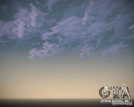 Real Clouds HD für GTA San Andreas siebten Screenshot