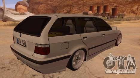 BMW M3 E36 Touring pour GTA San Andreas vue de droite