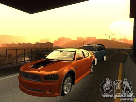 Dodge Charger From NFS CARBON für GTA San Andreas linke Ansicht