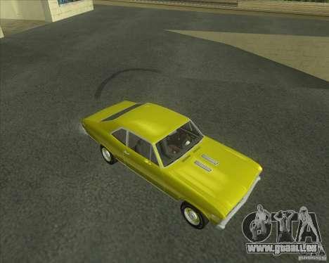 Chevy Nova SS 1969 für GTA San Andreas linke Ansicht