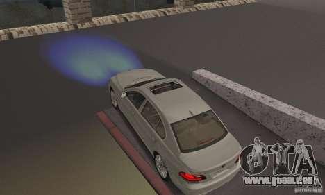 Blaue Scheinwerfer für GTA San Andreas