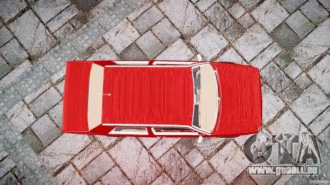 Volkswagen Jetta MKII VR6 pour GTA 4 vue de dessus