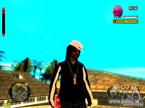 Haut Penner v8 für GTA San Andreas