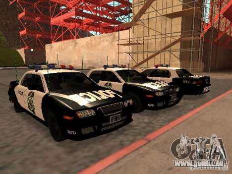 Police Civic Cruiser NFS MW pour GTA San Andreas