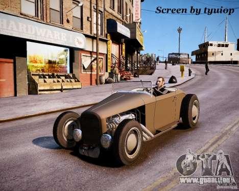 Roadster High Boy pour GTA 4 est une vue de l'intérieur