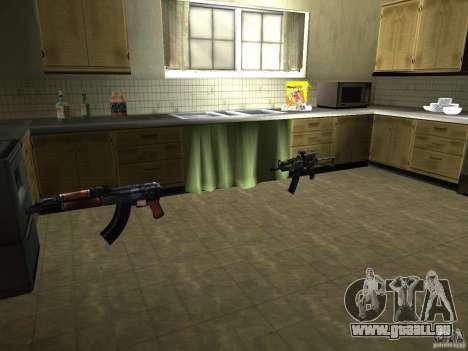 Pak version domestique armes 2 pour GTA San Andreas