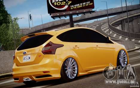 Ford Focus ST Mk.III 2013 pour GTA 4