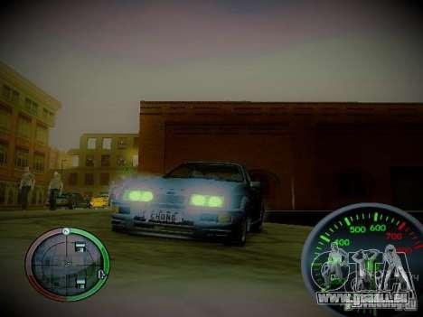 Tacho von Centrale v2 für GTA San Andreas zweiten Screenshot