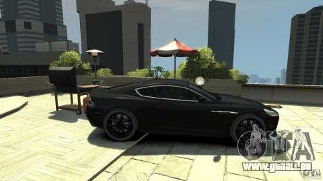 Aston Martin DBS v1.1 teinté pour GTA 4 est une gauche