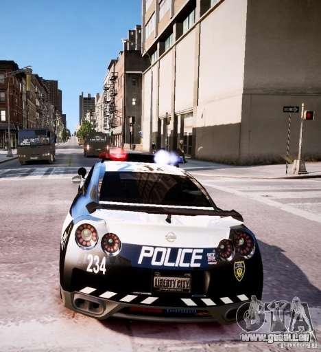 Nissan Spec GT-R Enforcer pour GTA 4 est un côté