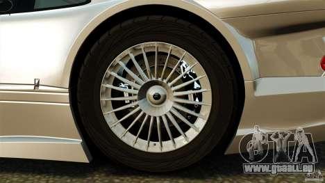 Mercedes-Benz CLK GTR AMG für GTA 4 Rückansicht