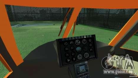 Helicopter From NFS Undercover pour GTA 4 est une vue de l'intérieur