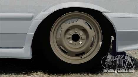 VAZ-2114-Drain für GTA 4 Rückansicht