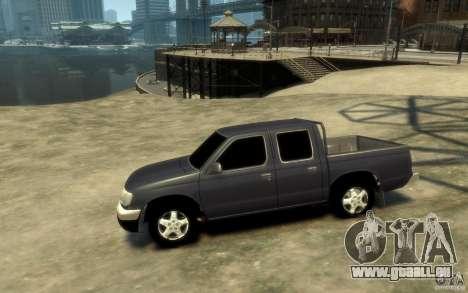 Nissan Pickup 2005 pour GTA 4 est une gauche