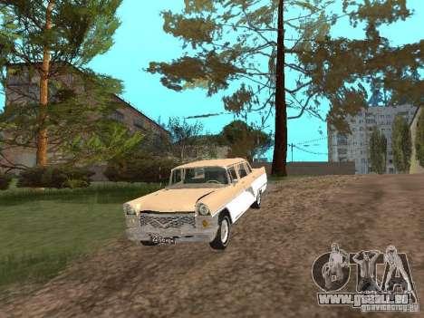 GAZ 13 pour GTA San Andreas vue de côté