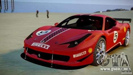 Ferrari 458 Challenge 2011 für GTA 4