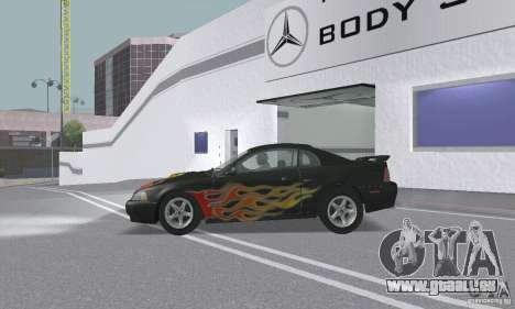 Ford Mustang GT 2003 pour GTA San Andreas moteur