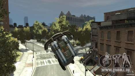 Jetpack für GTA 4 linke Ansicht