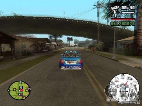 Un compteur de vitesse unique avec les mèmes pour GTA San Andreas troisième écran