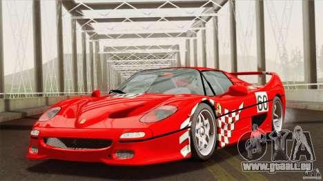 Ferrari F50 v1.0.0 Road Version für GTA San Andreas Seitenansicht
