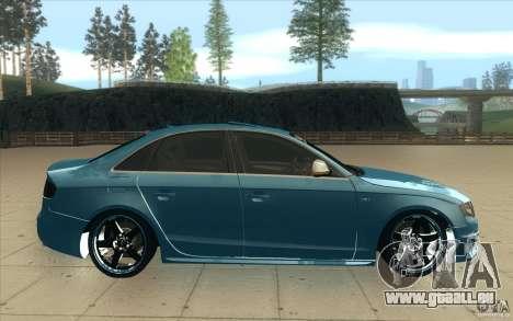 Audi S4 2009 pour GTA San Andreas vue intérieure