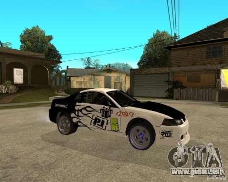 2003 Ford Mustang GT Street Drag für GTA San Andreas rechten Ansicht