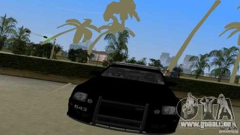 Saleen S281 Barricade 2007 für GTA Vice City zurück linke Ansicht