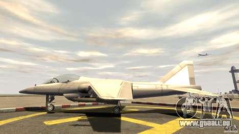 Liberty City Air Force Jet (mit Getriebe) für GTA 4 linke Ansicht