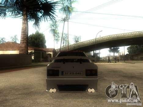 Renault 9 GTD pour GTA San Andreas sur la vue arrière gauche