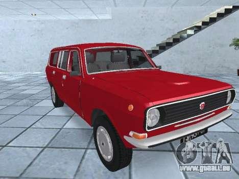 GAZ 24-12 v 2. pour GTA San Andreas vue arrière