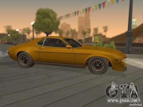 SPEEDEVIL from FlatOut 2 pour GTA San Andreas laissé vue