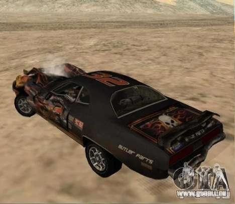 Bullet from FlatOut 2 für GTA San Andreas rechten Ansicht