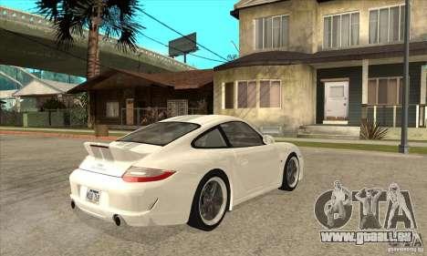 Porsche 911 Sport Classic pour GTA San Andreas vue de droite