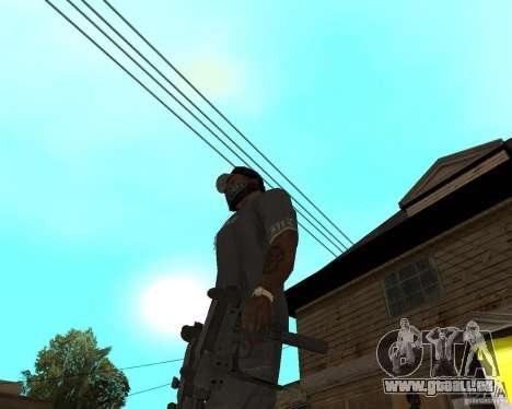 Mini-Uzi pour GTA San Andreas troisième écran