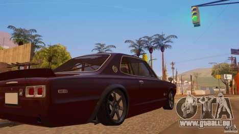 Nissan Skyline GT-R 2000 für GTA San Andreas linke Ansicht