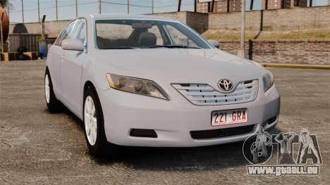 Toyota Camry Altise 2009 für GTA 4