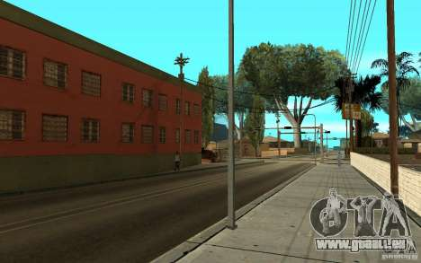UGP Moscow New Jefferson Motel für GTA San Andreas sechsten Screenshot
