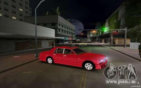 Bentley Arnage T 2005 pour GTA Vice City sur la vue arrière gauche