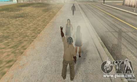 SuperClon (les gens de clonage dans SAN ANDREAS) pour GTA San Andreas quatrième écran