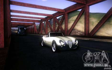Wiesmann MF3 Roadster für GTA San Andreas Innen