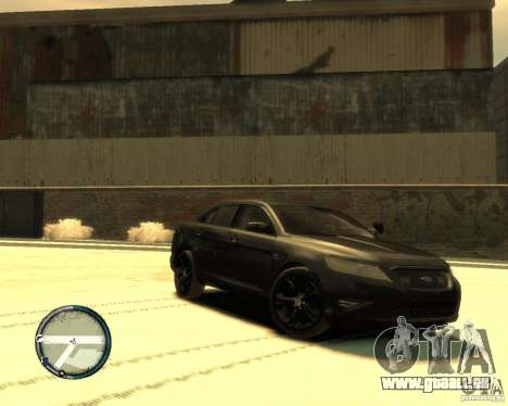 Ford Taurus Police Interceptor Stealth pour GTA 4 est une gauche